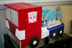 You need to see all the photos - its the complete package: Transformers Party