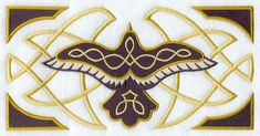 Machine Embroidery Designs at Embroidery Library! - Celtic Raven ...