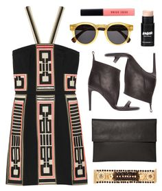 """OOTD"" by ashley-rebecca ❤ liked on Polyvore featuring Rick Owens, sass & bide, Iosselliani, Illesteva, Bobbi Brown Cosmetics and ootd"