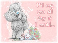 """Tatty Teddy/ For Mollie"""" ~ Teddy Bear Pictures, Bear Images, Bear Pics, Cute Images, Cute Pictures, Valentines Day Images Free, Teddy Bear Quotes, Hug Quotes, Blue Nose Friends"""
