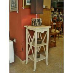 Pedestal Blanco Cruceta #Ambar #Muebles #Deco #Interiorismo #Outlet | http://www.ambar-muebles.com/sillon-de-dise-o-ades.html