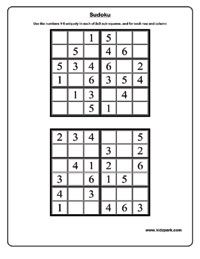 math worksheet : printable sudoku puzzles for kids 2016 05 16  3rd grade lessons  : Sudoku Worksheets