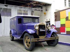Cadbury car