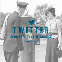 Twitter from the past