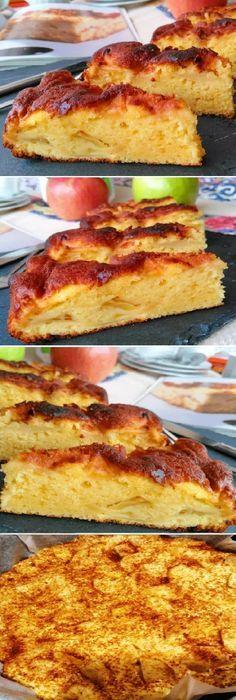 La verdadera delicia BIZCOCHO DE MANZANA (súper fácil. #bizcochodemanzana #manzana #dulces #apples #postres #cheesecake #cakes #pan #panfrances #panettone #panes #pantone #pan #recetas #recipe #casero #torta #tartas #pastel #nestlecocina #bizcocho #bizcochuelo #tasty #cocina #chocolate Si te gusta dinos HOLA y dale a Me Gusta MIREN... Sweets Recipes, Cooking Recipes, Chilean Recipes, Good Food, Yummy Food, Pan Dulce, Food Journal, Delicious Desserts, Sweet Tooth