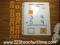 regrouping - what a great idea. I need to use this with some of my 5th graders who are still not regrouping correctly.