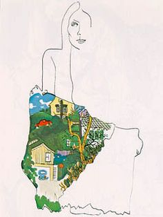 Ladies of the Canyon - self portrait and in the folds of the skirt a view from her window of Laurel Canyon house. Ladies of the Canyon - self portrait and in the folds of the skirt a view from her window of Laurel Canyon house. Joni Mitchell Paintings, Joni Mitchell Albums, Skin Paint, Pochette Album, I Love La, Laurel Canyon, Album Design, Lady, Cover Art