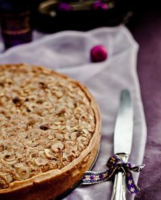 What's For Lunch Honey?: Christmas: Hazelnut Frangipane Tart with Quince Hazelnut Mincemeat