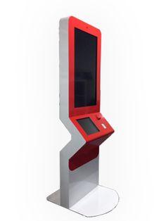 Dual Screen Interactive & Signage Kiosk