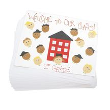 Economy Weight White Poster Board - 50 Sheets. White  Bulk poster boards for vision board party.
