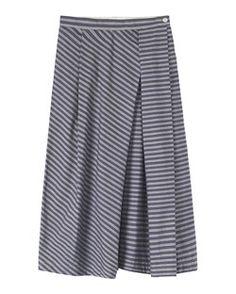 Ikat skirts, workwear skirts, linen wrap front skirts, mid length skirts and cotton skirts. Linen Skirt, Cotton Skirt, Pleated Skirt, Denim Skirt, Workwear Skirts, Build A Wardrobe, Mid Length Skirts, Straight Skirt, Stripe Skirt