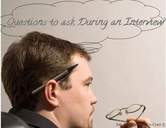 Questions to ask as the job interviewee