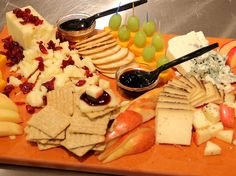Everyone dove in before we could even take the picture. #cheese #yum #delicious