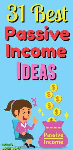 31 Best Passive Income Ideas - Check out this list! We have everything from dividend-paying stocks to peer-to-peer lending to creating your own cash-flowing assets! These passive ways to earn money will blow your mind! Make Money From Home, Make Money Online, How To Make Money, Earn More Money, Ways To Earn Money, Money Tips, Peer To Peer Lending, Work From Home Opportunities, Online Income