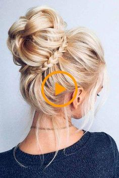 33 Gorgeous Updo Braided Hairstyles for Any Occasion; Nicehaircuts nicehaircuts Hairstyles For Work 33 Gorgeous Updo Braided Hairstyles for Any Occasion; Wedding up… 33 Gorgeous Updo Braided Hairstyles f Updos For Medium Length Hair, Prom Hairstyles For Long Hair, Up Dos For Medium Hair, Homecoming Hairstyles, Medium Hair Cuts, Medium Hair Styles, Braided Hairstyles, Curly Hair Styles, Updo Hairstyle