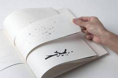 minimal book hand crafted and assembled by Soh Jin Ping