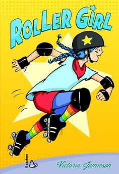 """Roller girl"" Victoria Jamieson"
