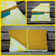 Tobacco Case (Yellow / yellow with flowers). €15.00, via Etsy.