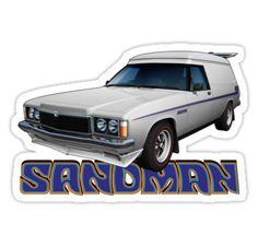 Holden Sandman Australian Muscle Cars, Aussie Muscle Cars, Holden Australia, Van Car, Cool Vans, Old School Cars, Hot Cars, Van Life, Motor Car
