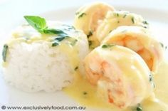 Creamy garlic prawns - Member recipe - Taste.com.au