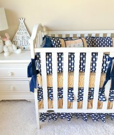 Baby Boy Crib Bedding Sets Arid Horizon Baby by RitzyBabyOriginal