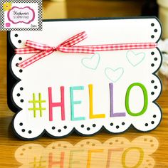 The Stamps of Life with Stephanie Barnard: Big Hello from Stephanie's Stamp Pad!