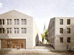 Staab Architekten gewinnen in Paderborn / Domblick  - Architektur und Architekten - News / Meldungen / Nachrichten - BauNetz.de