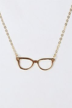Nerd Necklace in Gold