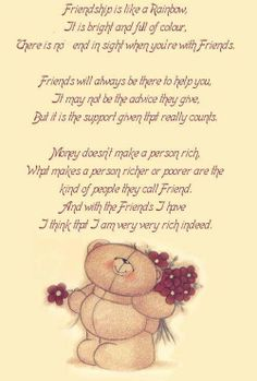 My Best Friend Poems Friendship | Friendship Quotes, Inspiring Friends Poems, Motivational Friendship ...