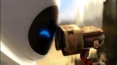 Любовь, WALL-E, ВАЛЛ-И, Ева, Мультфильмы