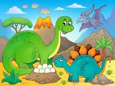 Image with dinosaur thematics 5