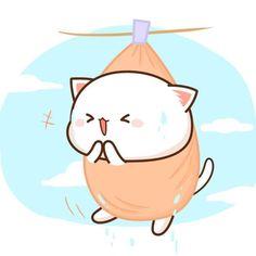 Save = Follow me 💕 Nhi Handsome 🌸 Chibi Cat, Kawaii Chibi, Kawaii Cat, Cute Chibi, Cute Bunny Cartoon, Cute Cartoon Images, Cute Cartoon Wallpapers, Kawaii Doodles, Cute Kawaii Drawings