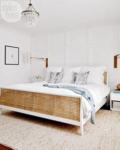 Vintage Bedroom white bedroom bed frame simple bedroom design master bedroom nighslee memory foam mattress buy a mattress in box Master Bedroom Design, Home Decor Bedroom, Modern Bedroom, Bedroom Furniture, Bedroom Bed, Bedroom Ideas, Bed Room, Master Suite, Bedroom Headboards
