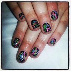 Splash of colour Color Splash, Colour, Nails, Beauty, Color, Finger Nails, Ongles, Paint Splats, Beauty Illustration