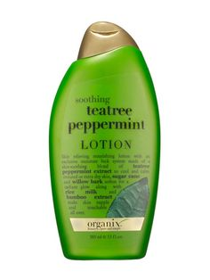 Cheap Thrills 2013: Best of Beauty: Organix Soothing Teatree Peppermint Calming Body Lotion Review: Skin Care: allure.com, $7.09