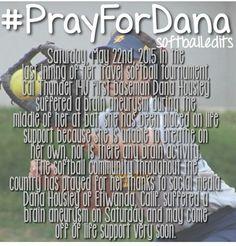 #PrayForDana