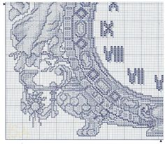 Cross Stitch Clock 3 of 4 - Gallery.ru / Фото #118 - Отшитые схемы 1 - livadika