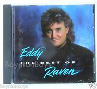 Best of Eddy Raven (CD 1992 Liberty) NEAR MINT Orig Pressing OPP RARE C2-98480