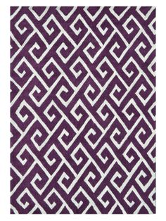 Greek Hand-Hooked Rug by The Rug Market at Gilt