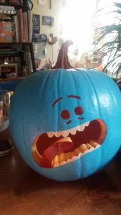 Mr Meeseeks de Rick And Morty http://frikinianos.es/mr-meeseeks/ #Rick&Morty #RickAndMorty #MrMeeseeks #HappyHalloween