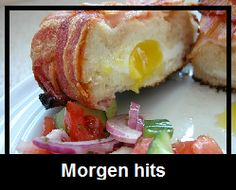 Kartoffelgratin svøbt i bacon – Grill venner Mad Men, French Toast, Food And Drink, Eggs, Breakfast, Ost, Omelet, Morning Coffee, Egg