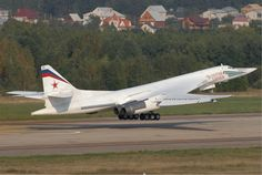 """""""The Russian Concorde"""": The Tupolev is the world's largest supersonic combat aircraft. It was designed by the Soviet Union in the It boasts the most powerful engines ever on a combat aircraft and can hold of weaponry. There are 16 in service. Concorde, Air Fighter, Fighter Jets, B1 Bomber, Supersonic Aircraft, Russian Military Aircraft, Russian Air Force, Military Equipment, War Machine"""
