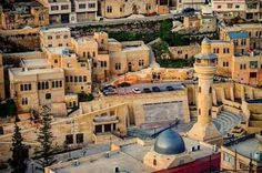 AL-SALT CITY , DOWNTOWN , WELLCOM TO JORDAN ♡