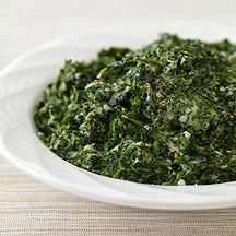 Image of creamed spinach