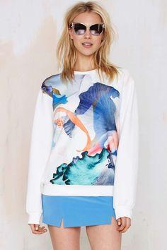 Style Stalker Paradise Neoprene Sweatshirt