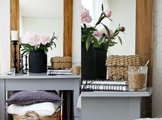 5 propuestas para decorar una mesa auxiliar | La Garbatella: blog de decoración de estilo nórdico, DIY, diseño y cosas bonitas.