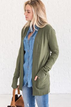 e560c62166 22 Best Olive green cardigan images