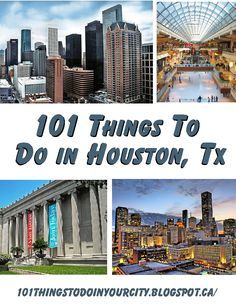 101 Things to Do...: 101 Things to do in Houston. This is do old tho it says u can go to Top Golf and Astroworld