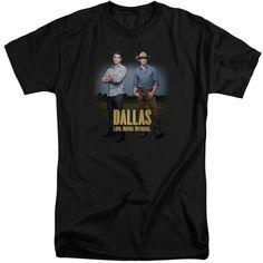 DALLAS/THE BOYS-S/S ADULT TALL-BLACK-XL