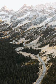 gentlearth: woodfawn: alecsgrg: Stevens Pass | ( by Brendan...